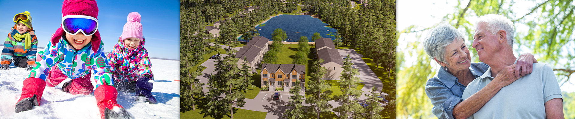 New houses Tremblant, Laurentians
