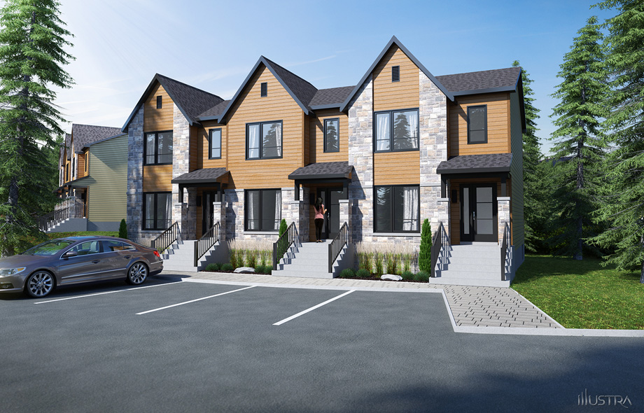 New homes project tremblant laurentians via tremblant New house project