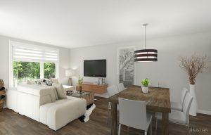 Projet domiciliaire tremblant salon